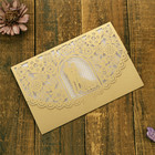 Laser Cut Wedding Invitations Card Hollow Bride Greeting Cards for Wedding Bridal Birthday Baby Shower Supplies
