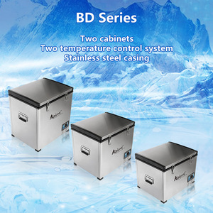 BD 60L cold drink fridge chest fridge car fridge with LCD display