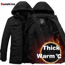 2014 New Fashion Winter Men Thickening Casual Cotton Jacket Outdoors Waterproof Windproof Breathable Sport Coat Free Shipping