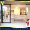 Australian handles thermal-broken double glazing used sliding glass door