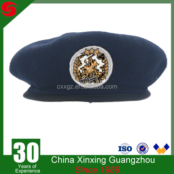 d0e4f86650e8f Military And Army Use Grade Round Un Standard Wool Hat Beret ...