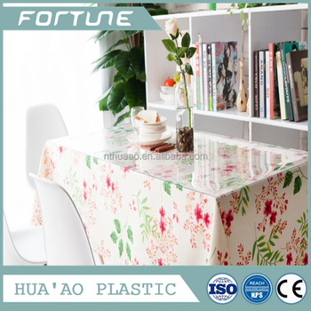 Print Table Covers Plastic Table Cover Rolls Wholesale Vinyl