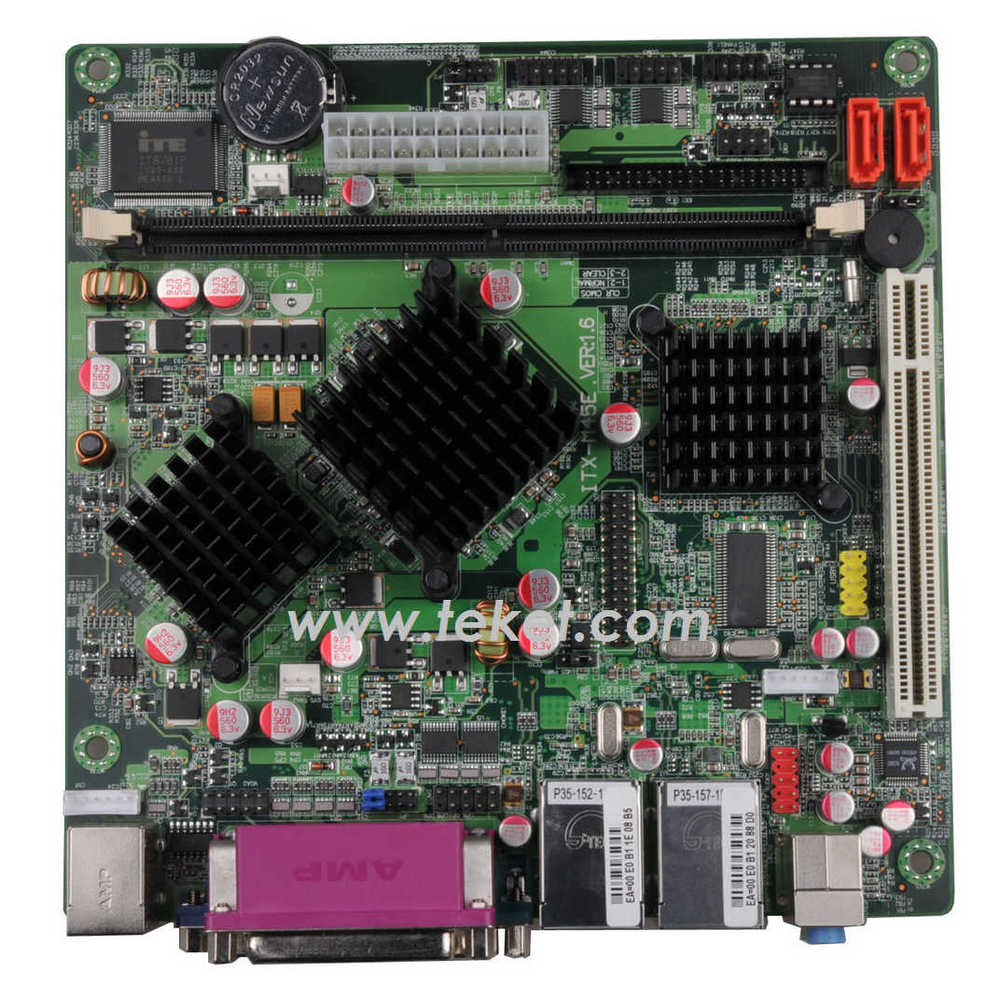 Intel Mini-ITX Board D945GSEED with Atom N270 and 945GSE,2 LAN and 44pin IDE