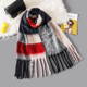 top quality women's plaid blanket winter scarf with tassel blanket wrap shawl scarves