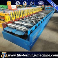 Control System joint-hidden roof panel roll forming machine by bello lin