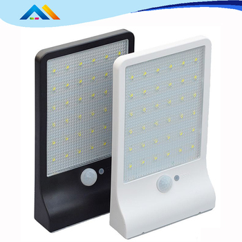 LED Solar Lights Garden Wireless Security Light Outdoor Solar Motion Lights for Patio Yard