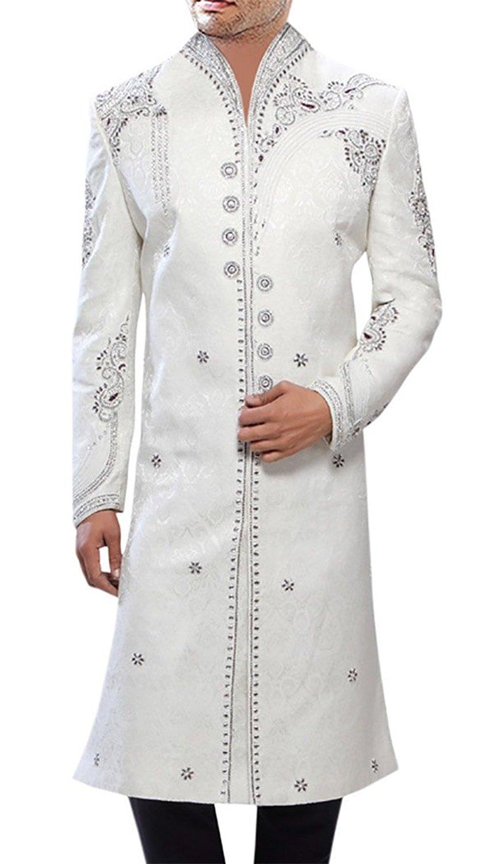 INMONARCH Mens Lavender 2 Pc Sherwani Fashionable SH493Z