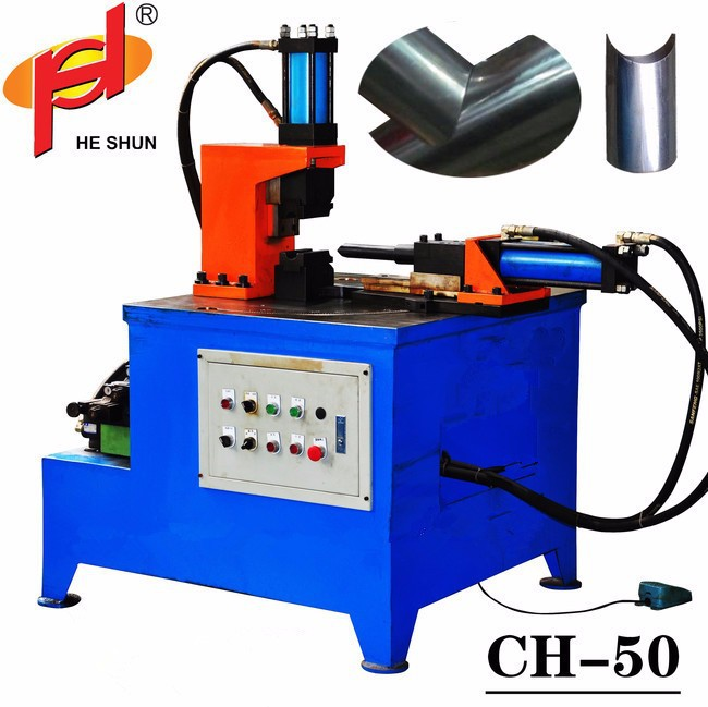CH-50 horizontal steel pipe end notching machine
