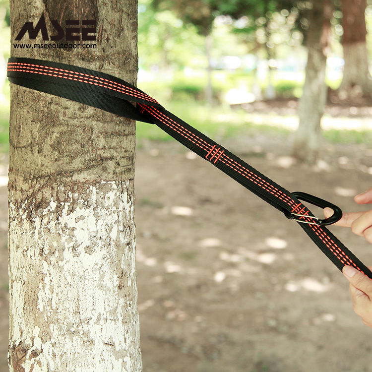 Msee Ha-rope Wholesale Outdoor wholesale nylon hammock suspension with straps