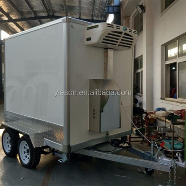 Yieson Oem Nuevo Modelo Congelador De Helados Remolque Camión/camión ...