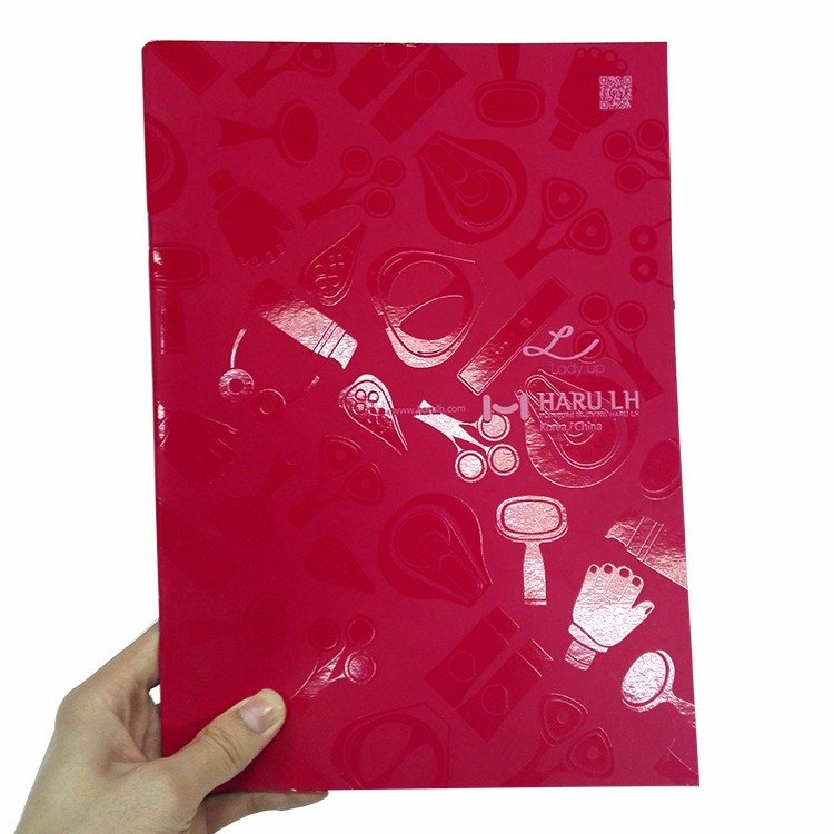Customized full color A4 A5 Coated Paper saddle stitch books softcover magazine printing cheap colorful brochure printing