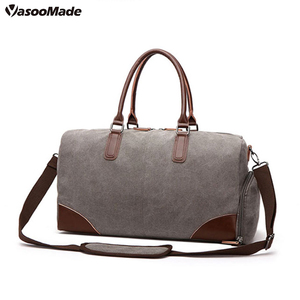 22ea5c2560 Amazon Popular mens gym sport traveling canvas holdall duffle duffel  luggage weekender overnight bag with shoes