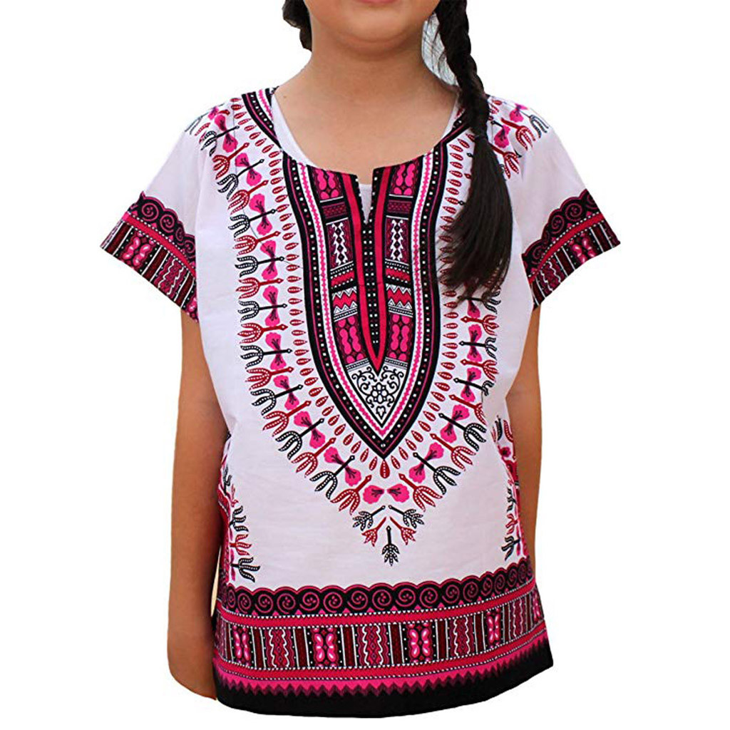 136864cf3 Detail Feedback Questions about 2019 Summer Toddler Children Shirts Boy  Girl Kids Baby Unisex Bright African Colour Child Dashiki T Shirt Tee Tops  For Kids ...