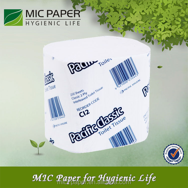 Weiches Interleaved Toilettenpapier