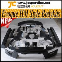HM Style Car Tuning Bodykit With Exhaust For Land Rover Range Rover Evoque Body Parts