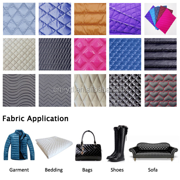 Manufacturing Polyester Non-woven Wadding Quilt Fabric Jacket Coat ... : pre quilted fabric for sale - Adamdwight.com