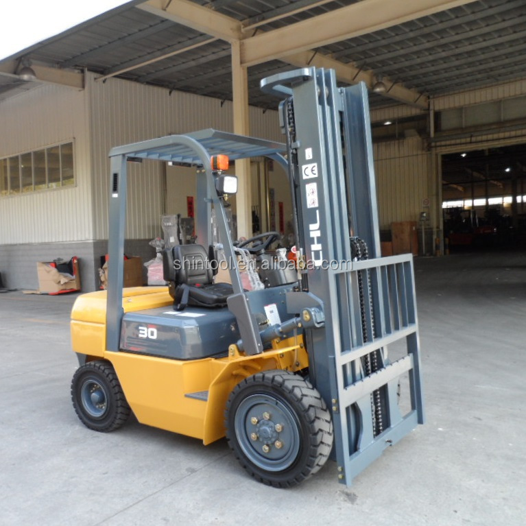 Clamp Forklift Controls : Clamp forklift truck with optional attachment