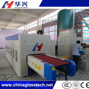 1500*600mm Small Tempered Glass Production Plant