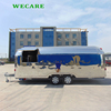 High quality towable street mobile kitchen outdoor food trailer food vending truck for sale