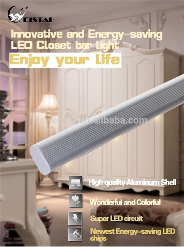 Closet Rod With Sensor Led Light Battery Operated Light Led  Bulb(Colourfullighting WST 1809