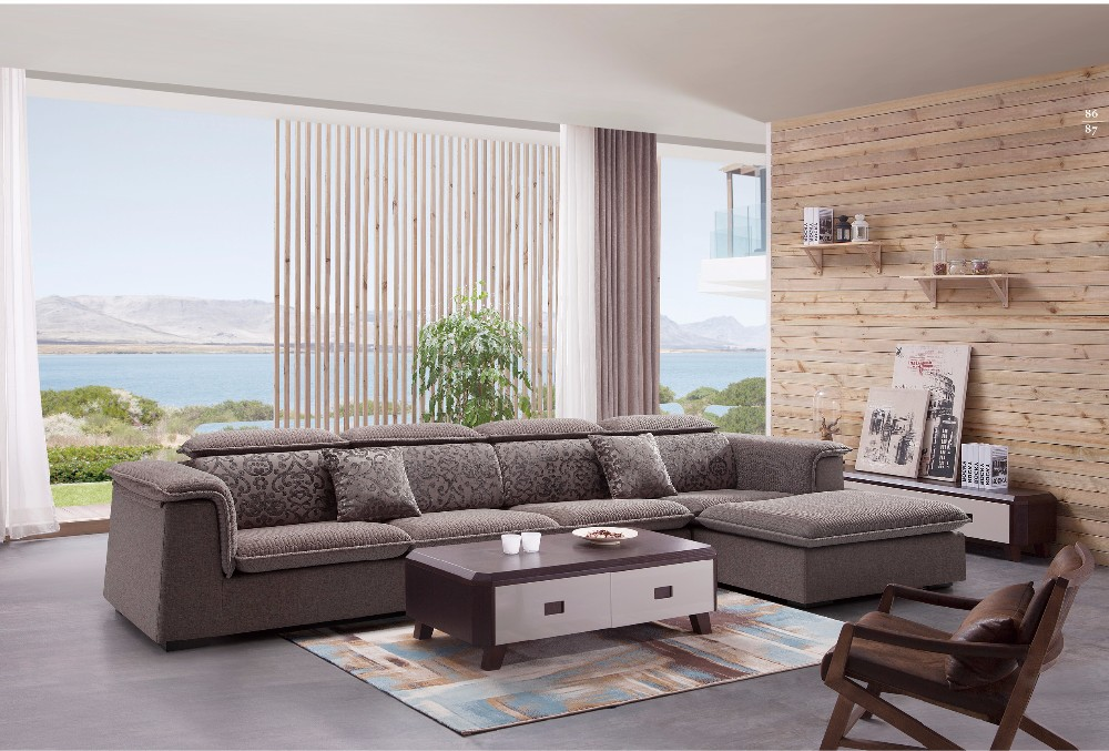 Latest Sofa Design 2017 latest sofa design living room sofa with solid wooden legs