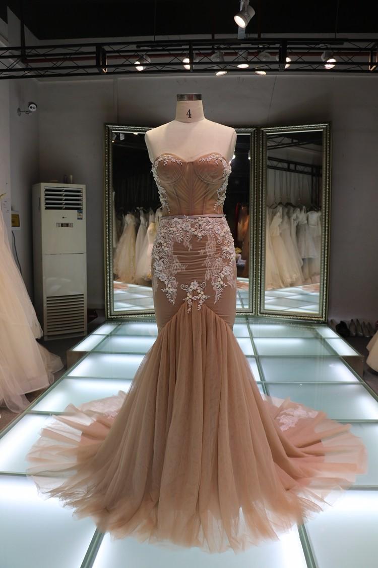 China alibaba wholesale lace beaded mermaid wedding dress for Guangzhou wedding dress market