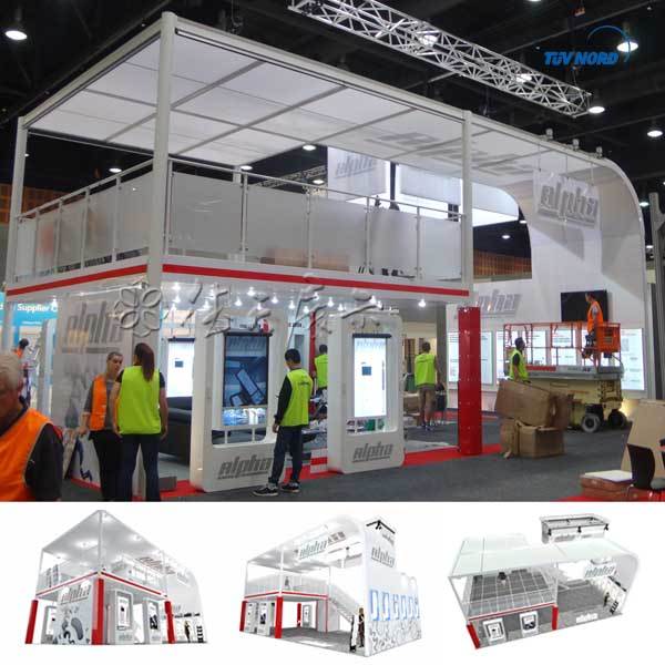 Expo Stands For Sale : Factory sale customized service luxurious double deck show booth
