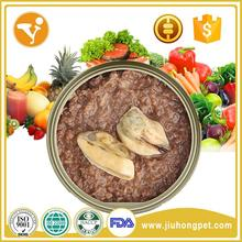 Dog Treats With Chicken/Beef/Fish Meat Canned Natural Pet Food