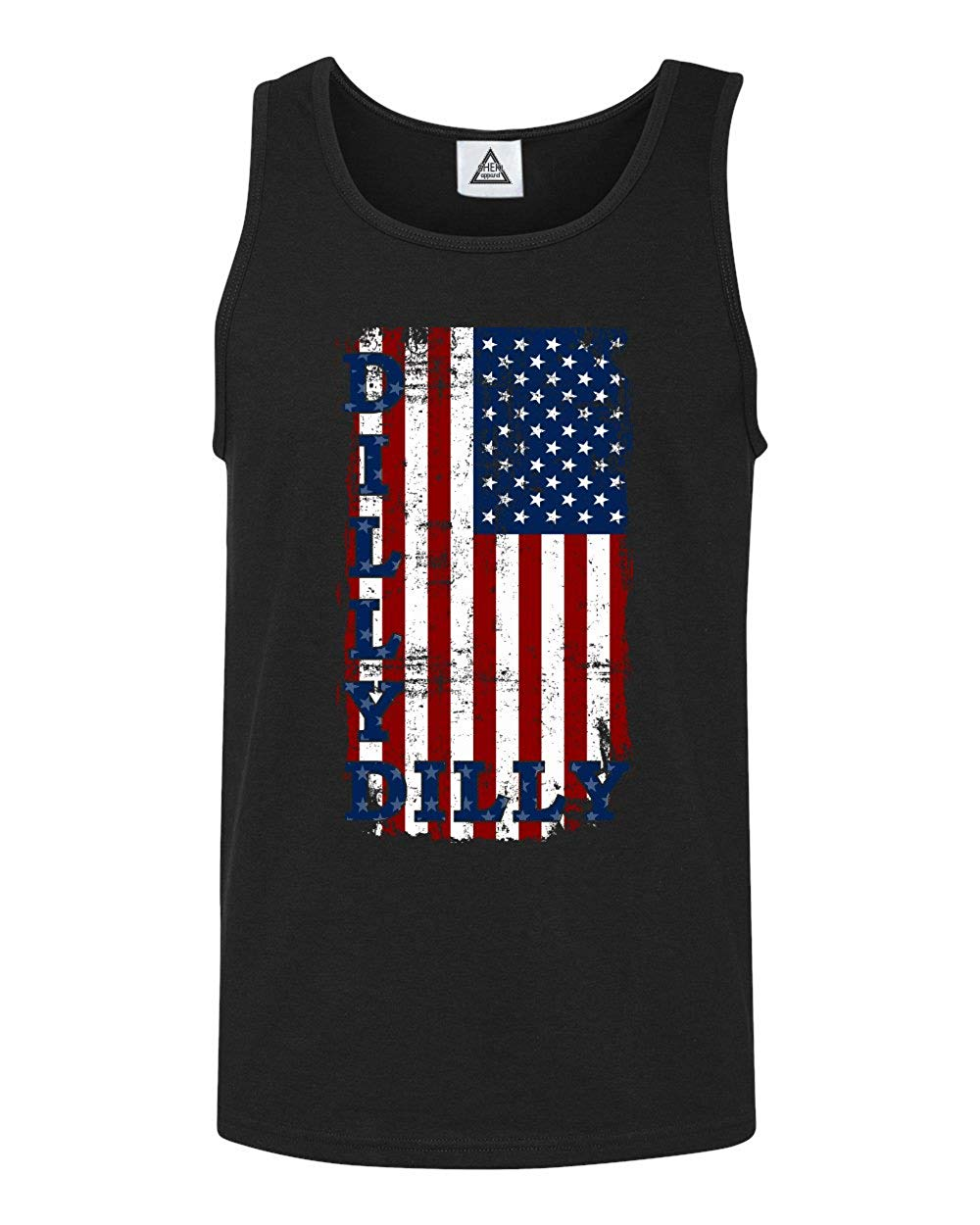 Sheki Apparel Dilly Dilly American Flag Tank Top