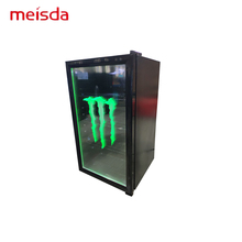 ETL 98L Porta di Vetro Bevanda monster Energy <span class=keywords><strong>Display</strong></span> Mini Frigo