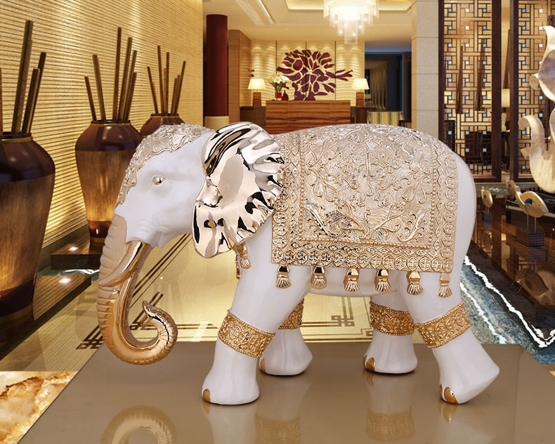 Best Ing Resin Animal Statue Lifelike Giant Elephant For Door Decoration