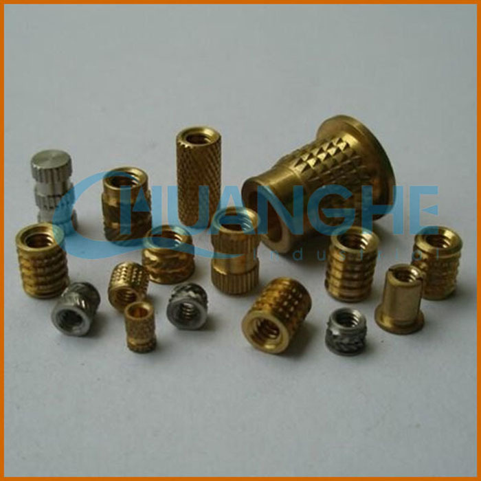 China Supplier Threaded Brass Insert/mold-in Plastic Insert Nut ...