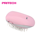PRITECH Factory Made Private Label Pink Ionic Compact Hair Brush