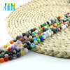 XULIN Fashion Alibaba Beads X0007 Mixed Color Cats Eye Gemstone Glass beads For Necklace