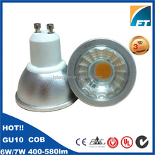 50W halogen replacement led spotlight, gu10 6w cob led spotlight 4000k