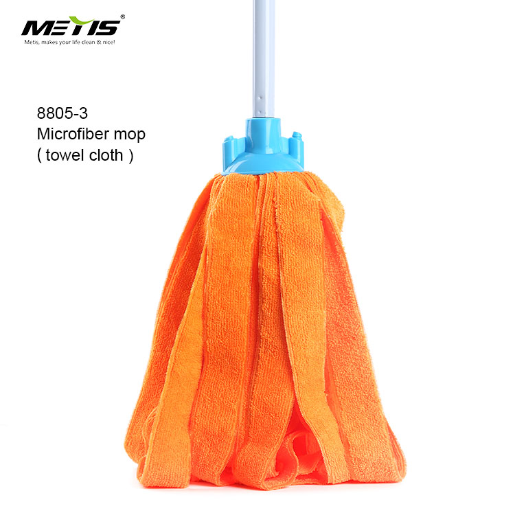 Eco-Friendly Feature no.8805-3 Terrycloth Towels Material mop cloth cotton floor mop