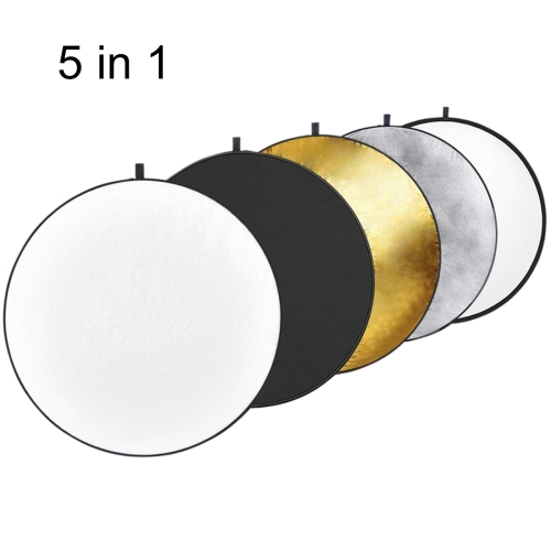 Drop Shipping Factory Best Quality 5colors /Set Photography Reflectors,Photo Studio Reflector with Steel Spring Coated fabric
