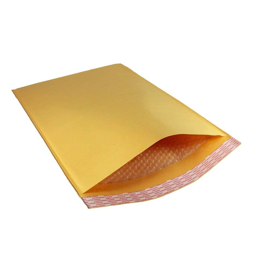 "50 Pc 15""x20"" Kraft Bubble Mailers Large Padded Shipping Envelopes"