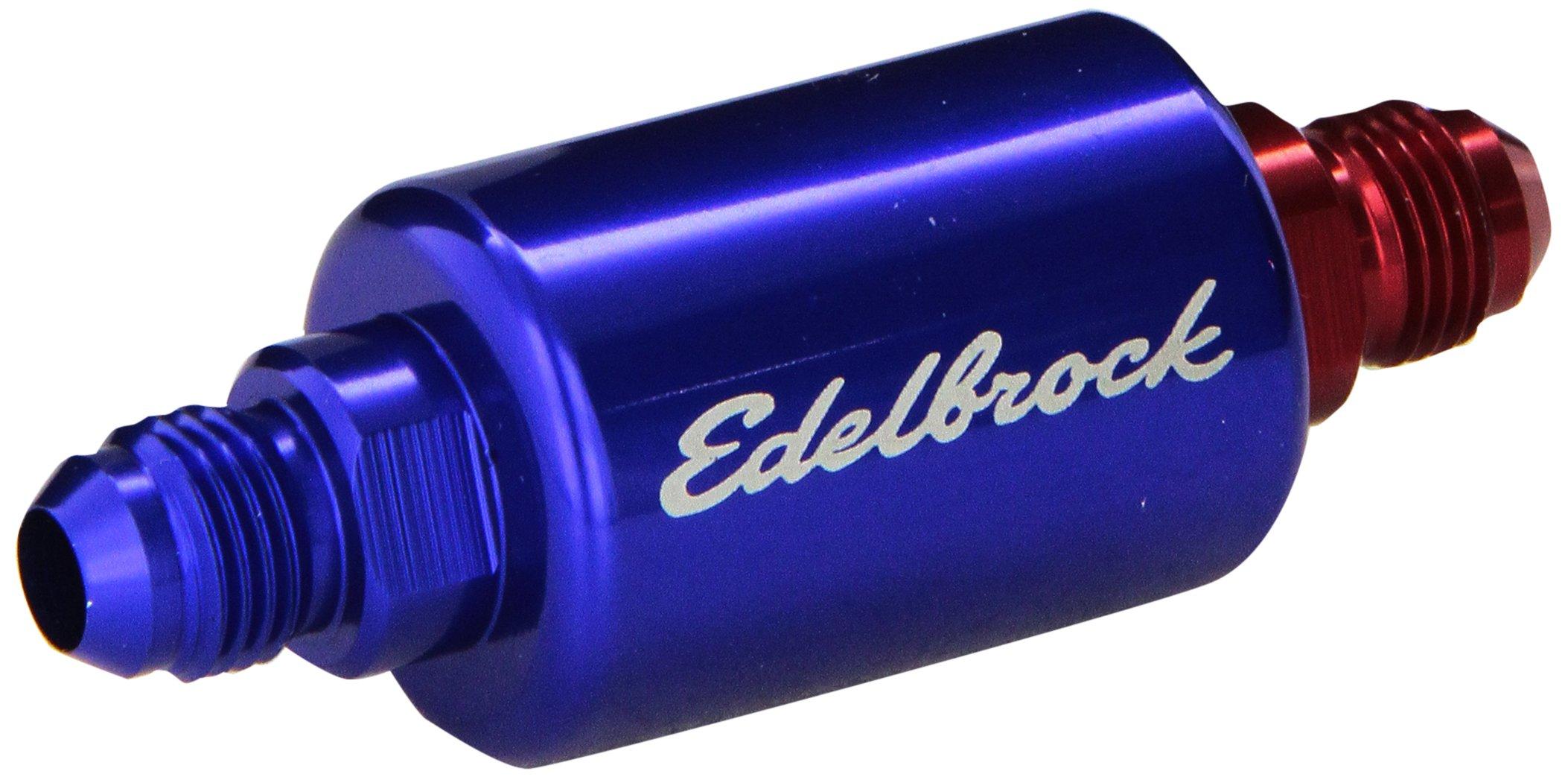 Cheap Edelbrock Fuel Pump Find Deals On Line At 1721 Get Quotations 8130 Blue Anodized Aluminum Filter