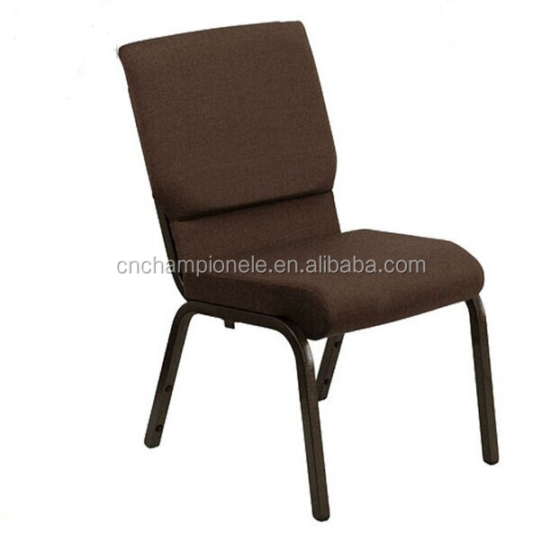 Cheap hotel stackable church chairs steel wire chair