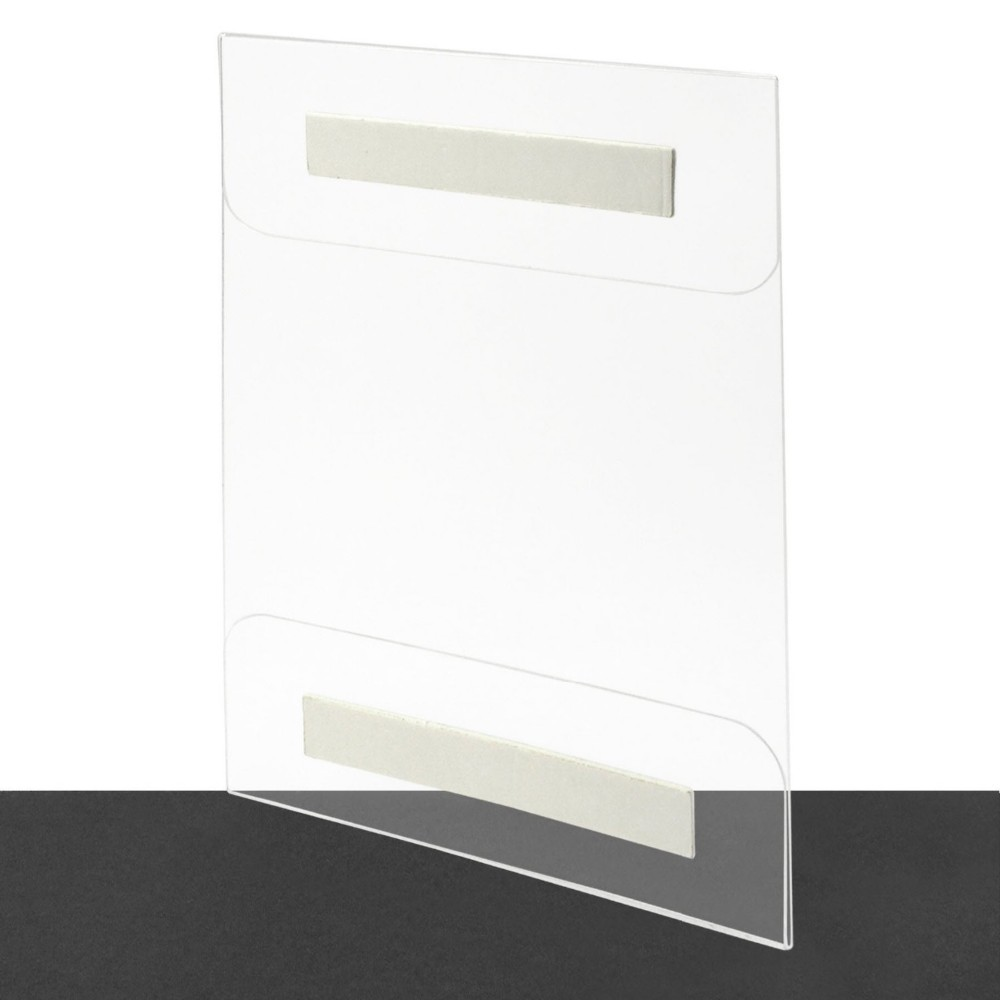 Paper A4 Insert Plexiglass Lucite Perspex Wall Mounted