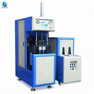Manual HZ880 Semi Automatic pet Bottle pet Blowing Machine Price for PET Preform