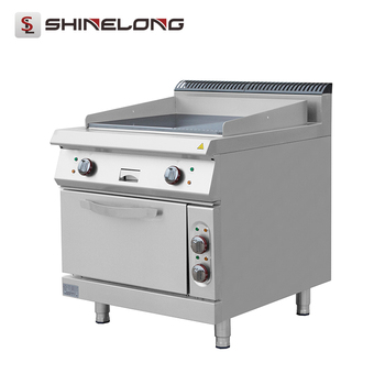 High Quality Good Prices Electric Griddle Hot Sale Industrial Kitchen Equipment Used With CE