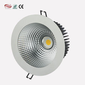 High power Best quality 40w led downlight led CRI 95 Commercial Lighting COB LED downlight round