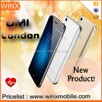 Arrival Original Umi london andriod 6.0 2050mAh 4g china smartphone UMI phone mobile gold/black