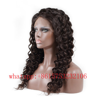 100 Unprocessed Lacefront Wig Human Hair Swiss Lace For Wig Making