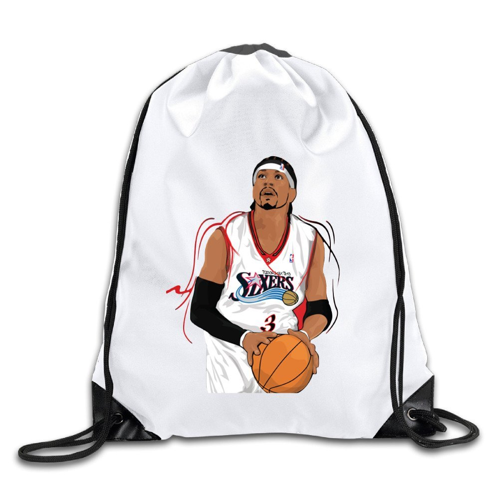 f5196769147f Get Quotations · LCNANA Allen Iverson The Answer Personality One Size  Pocket Canvas