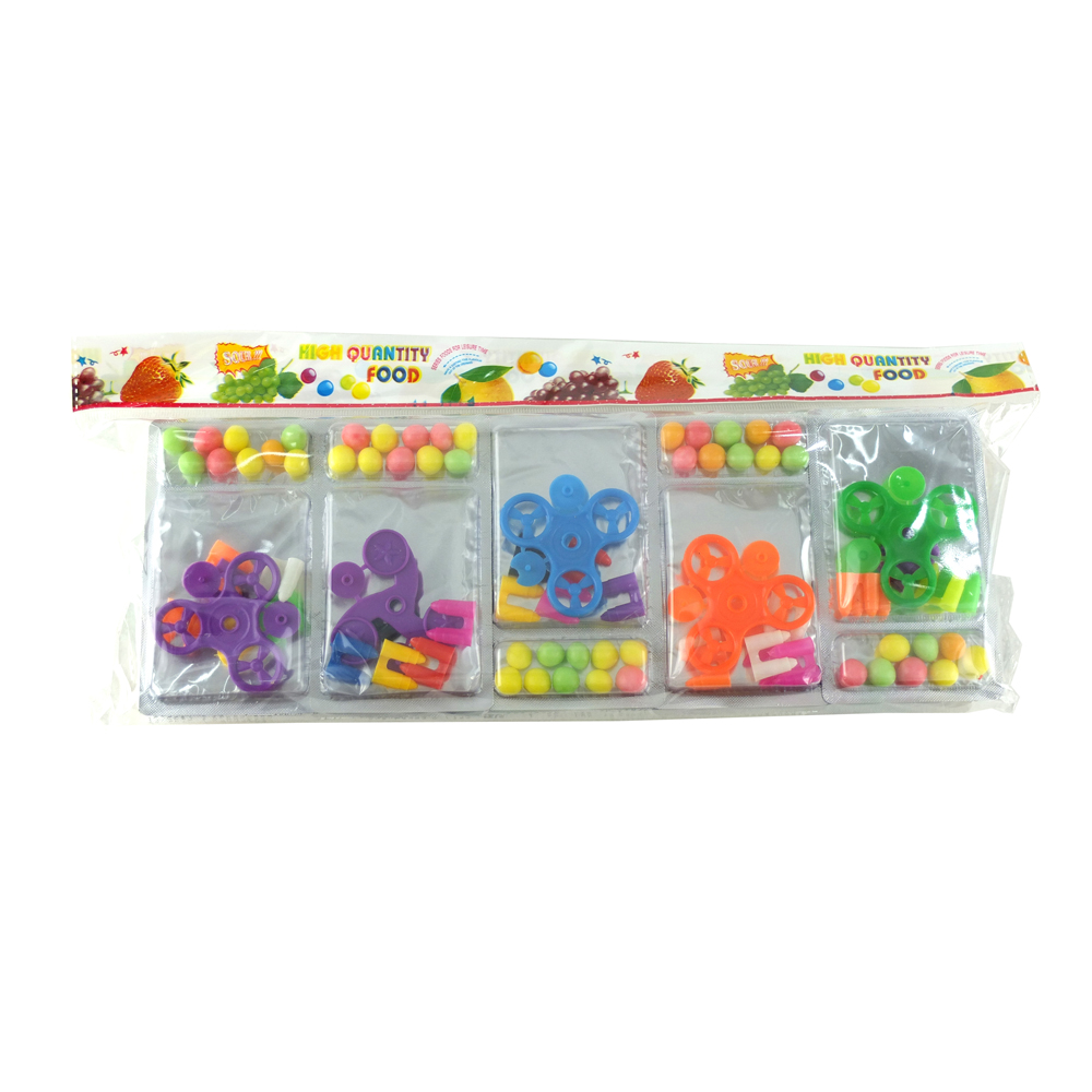 PD-053 förderung tasche verpackung mini finger gyro candy spielzeug tablet bonbons