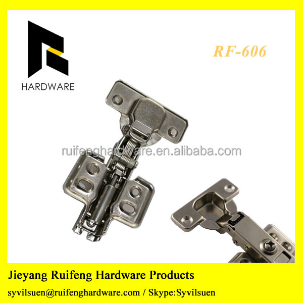 Clip on SS material Cabinet Hinge Soft Closing Hinge