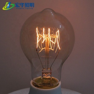 hot sale A19 Bar Edison Incandescent Lamp 220V 40W Vintage Decor Light Bulb decorative bulb